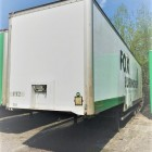 2001 MONTRACON 38 TON / 45 FOOT 3 AXLE STEP FRAME BOX TRAILER