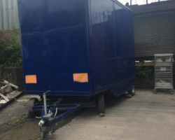 1997 ROHILL BODIES 3.5 TON BOX REMOVAL TRAILER