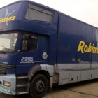 2001 MERCEDES ATEGO 17 TON- 5 CONTAINER REMOVAL TRUCK